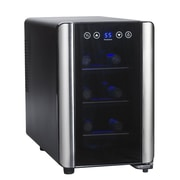 Wine Enthusiast Companies Silent 6 Bottle Single Zone Wine Refrigerator