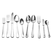 David Shaw Silverware 45 Piece Lucia Splendid Flatware Set
