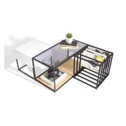 Sauder Sauder Boutique Space 3 Piece Coffee Table Set