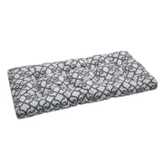 Madison Park Daven Printed Fretwork 3M Scotchgard Outdoor Cushion
