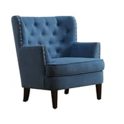 iNSTANT HOME Chrisanna Tufted Upholstered Club Chair; Teal