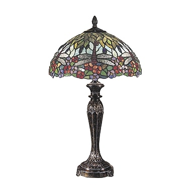 Dale Tiffany Floral 29'' Table Lamp