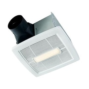 Broan InVent Single-Speed 110 CFM Energy Star Bathroom Fan With LED Light