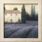 Wildon Home   'Lavender Field Detail' by James Wiens Framed Painting Print
