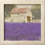 Wildon Home   'Tuscan Lavender' by Bret Staehling Framed Photographic Print