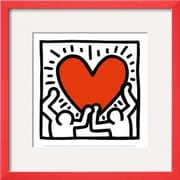 Wildon Home   'Untitled, c.1988' by Keith Haring Framed Graphic Art