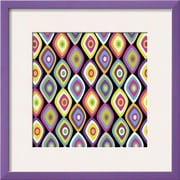 Wildon Home   'World Pattern 2' by Lauren Gibbons Framed Graphic Art