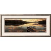 Wildon Home   'Water and Boat, Maine, New Hampshire Border, USA' Framed Photographic Print