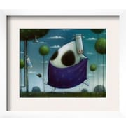 Wildon Home   'Wash and Moo' by Rob Scotton Framed Graphic Art