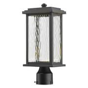 Artcraft Lighting Sussex Drive 1 Light LED Lantern Head; Black