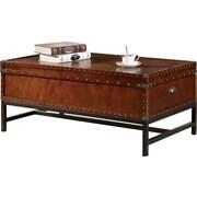 Hokku Designs Benjamin Trunk Coffee Table with Lift-Top
