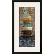 Wildon Home   'Antique Coffee Cups II' by Silvia Vassileva Framed Graphic Art