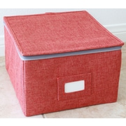 KTW Products Storage Box Set with Zipper Lid; Small