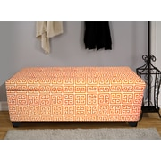 The Sole Secret Upholstered Storage Bedroom Bench; Small