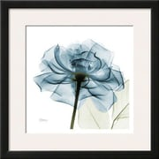 Wildon Home   'Blue Rose' by Albert Koetsier Framed Graphic Art