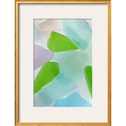 Wildon Home   'Beach Glass IV' by Kathy Mahan Framed Photographic Print