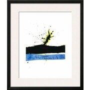 Wildon Home   'Beside the Sea No.1, c.1962' by Robert Motherwell Framed Graphic Art