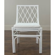 Jeffan Brighton Side Chair; White
