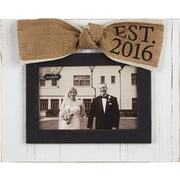 Mud Pie  Wedding Est. 2016 Picture Frame