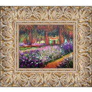 Tori Home 'Artist's Garden at Giverny' by Claude Monet Framed Painting Print