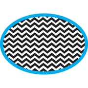 Ashley Magnetic Whiteboard Erasers, Chevron, 1 eraser (ASH10047)