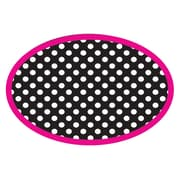 Ashley Magnetic Whiteboard Erasers, Black & White Dots, 1 eraser (ASH10048)