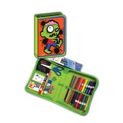 Zombie Designed All-In-One School Supplies with durable carrying case, Grades K-4, 41 pcs (BMB26011683)