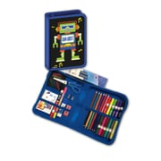 Blumberg Company Da Bot Robot Designed All-In-One School Supplies with Carrying Case, Grades K-4, 41 Pieces (BMB26011690)
