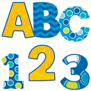 Carson-Dellosa Bubbly Blues EZ Letters, 152 Pieces (CD-130052)