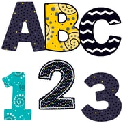 Carson-Dellosa Black, White & Bold EZ Letters, 152 Pieces (CD-130058)