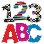 Carson-Dellosa Colorful Chalkboard EZ Letters, 152 Pieces (CD-130060)