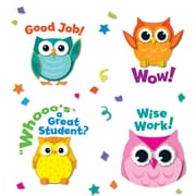 Colorful Owl Motivators Motivational Stickers, Pack of 72 (CD-168144)