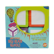 Chenille-Kraft Write On Wipe Off! Blocks, 2 packs (CK-9306)