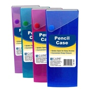 C-Line® Slider Pencil Case, Assorted Colors, 24 pack (CLI05600)