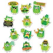 St. Patrick's Day Owl Stickers, Pack of 60 (CTP2109)