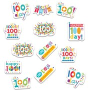 Happy 100th Day Stickers, Pack of 65 (CTP2111)