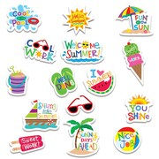 Summer Fun Stickers, Pack of 75 (CTP2115)