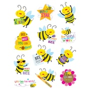 Bee Rewarded Stickers, multicolor, Pack of 60 (CTP4403)