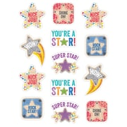 Upcycle Style Star Rewards Stickers, multicolor, pack of 65 (CTP4838)
