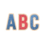 """Upcycle Style 2"""" Uppercase Letter Stickers for Designed for all ages, 1 pack of 74 letters (CTP4839)"""