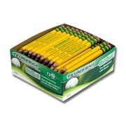 Dixon Ticonderoga® Golf Pencils, No. 2, 2 Boxes of 72 (DIX13472)