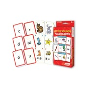 Letter Sounds Flash Cards for ages 4+, 1 pack of 162 cards (JRL202)