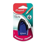 Maped Tonic 1 Hole Sharpener, Manual, Assorted Colors, 12 pack (MAP068249)