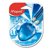 Maped IGLOO 2 Hole Pencil Sharpener, Manual, Blue, 12 pack (MAP634756)