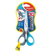 "Maped USA Sensoft 3D Scissors, Blunt Tip, 5"", Assorted Colors, 12 packs of 1 (MAP693500)"