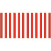 "Pacon Fadeless® Design Roll, 48"" x 50', Red & White Classic Stripes (PAC57615)"