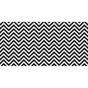 "Pacon Fadeless® Design Roll, 48"" x 50', Black & White Chevron (PAC57715)"