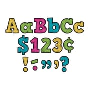 "Teacher Created Resources Chalkboard Brights Bold Block 4"" Letters Combo Pack (TCR5617)"
