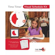 Time Timer® Visual Schedule Kit, 2 pack (TTMVSK11)