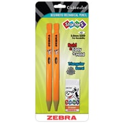 Zebra Cadoozles® Starters Mechanical Pencils, 2mm, 6 packs of 2 (ZEB52802)